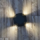 Lack Corner Wall Sconce LED Geometric 4.7''