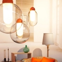 Giant Sphere Pendant Light Glass