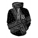 New Fashion 3D National Flag Printed Casual Leisure Unisex Hoodie