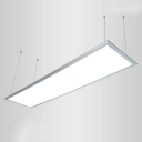 Rectangular LED Suspension Light  White 23.6''