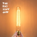 110V T30  E27 40W 30*30mm  Edison Bulb