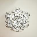 LED Ceiling Light Creative Designer Multi Color 20.8''