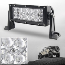 5D 7 Inch Off Road LED Light Bar CREE LED 36W 30 Degree Spot Beam Car Light For Off Road 4WD Jeep Truck ATV SUV Pickup Boat