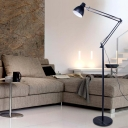 Classical Floor Lamp Black Adjustable