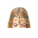 New Fashion Holiday Boho Style Beads Tassel Design Hair Ornaments