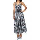 Summer's Holiday Beach Spaghetti Straps Sleeveless Maxi Slip Dress