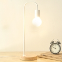 Industrial Desk Lamp Simple in White