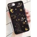 New Fashion Glitter Galaxy Pattern Sheer Lovely iPhone Case