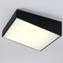 Trapezoid Ceiling Light LED, 1 Light