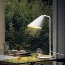White Angle Shade  Table Lamp Minimalist