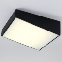 Trapezoid Ceiling Light LED, 4 Lights