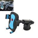 Car Mobile Phone Mount Universal Smartphones Cradle Holder with 360 Degree Rotation, Windshield / Dashboard Mount and Air Vent Mount