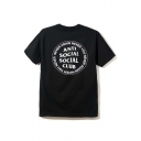 Popular ANTI SOCIAL SOCIAL CLUB Graphic Printed Tee with Round Neck