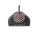 Modern Black Lattice Polycarbonate Pendant Light