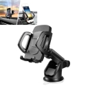 Car Phone Holder Adjustable and Universal Dashboard with Strong Sticky Gel Pad for Smartphone