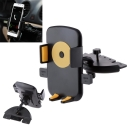 Adjustable Universal 360° Plug in Phone GPS Holder Mount Stand for Car CD Player