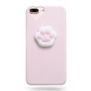 New Stylish Cubic Soft Cat Claw Embellished iPhone Case