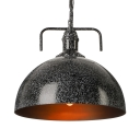 8/12/16 Inches Wide Galvanized Iron One Light Industrial LED Pendant Lighting