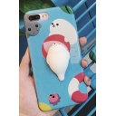 Lovely Cartoon Seal Pattern Mobile Phone Case for iPhone
