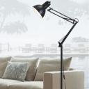 Classical Black Floor Lamp Adjustable