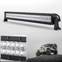 5D 32 Inch Off Road LED Light Bar CREE LED 180W 30 Degree Spot 60 Degree Flood Combo Beam Car Light For Off Road, Truck, SUV, ATV, 4WD, Picking Boat