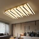 Key Ceiling Light Minimal LED, 35 Inch