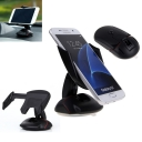 Car Phone Holder with Mouse Shape Mount for Smartphone with 5-9 cm Screens