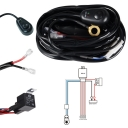LED Light Bar Wiring Harness Kit 400W 12V 40A Fuse Relay ON/OFF Waterproof Switch 3 Lead 3 Meter Universal for Off Road ATV SUV Jeep Truck
