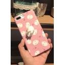 New Fashion Lovely Cartoon Rabbits Pattern Polish iPhone Case