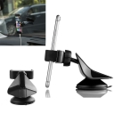 Car Phone Mount Black Universal Car Accessories For IPhone Samsung Galaxy Note and More