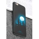 New Arrival Moonlight Forest Painted Polish iPhone Case