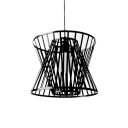 Industrial Hanging Pendant Light in Nordic Style with Novelty Wire Net Metal Cage