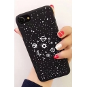 Cartoon Planets Pattern Fashion iPhone Case for Couple