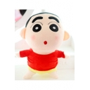 Lovely Crayon Shin Stylish Cartoon Woolen Toy for Gifts