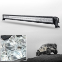 5D 52 Inch Off Road LED Light Bar CREE LED 300W 30 Degree Spot 60 Degree Flood Combo Beam Car Light For Off Road, Truck, SUV, ATV, 4WD, Boat