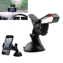 360 Degree Rotating Car Windshield Mount Holder Stand Bracket for Cell Phone, Black