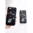 New Stylish Space Planet Pattern Polish Mobile Phone Case for iPhone