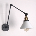 Industrial Adjustable Wall Sconce with 11