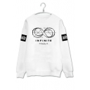 Fashion Graphic Printed Long Sleeve Round Neck Pullover Sweatshirt