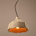Industrial Pendant Light Cement in Nordic Style, 12