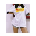 Summer's Street Style Letter Pattern Round Neck Short Sleeve Loose T-Shirt