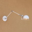 Vintage Swing Arm Wall Sconce, 4