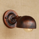 Vintage Wall Sconce Hallway in Iron Style, Rust