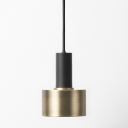 Industrial Pendant Light in Nordic Style with Cylinder Shade