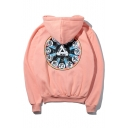 New Fashion Triangle The Zodiac Printed Long Sleeve Hoodie for Couple