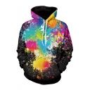 New Trendy Fashion Digital Oil Painted Long Sleeve Casual Unisex Hoodie