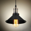 Industrial Pendant Light Indoor with 8.66