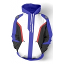 New Arrival Fashion Game Theme Color Block Unisex Hoodie with Pockets