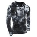 New Collection Stylish Ombre Color Block Long Sleeve Sports Casual Hoodie