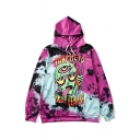 Fashion Alien Monster Pattern Casual Loose Long Sleeve Hoodie